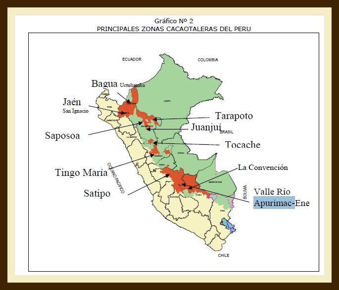 Какао в Перу