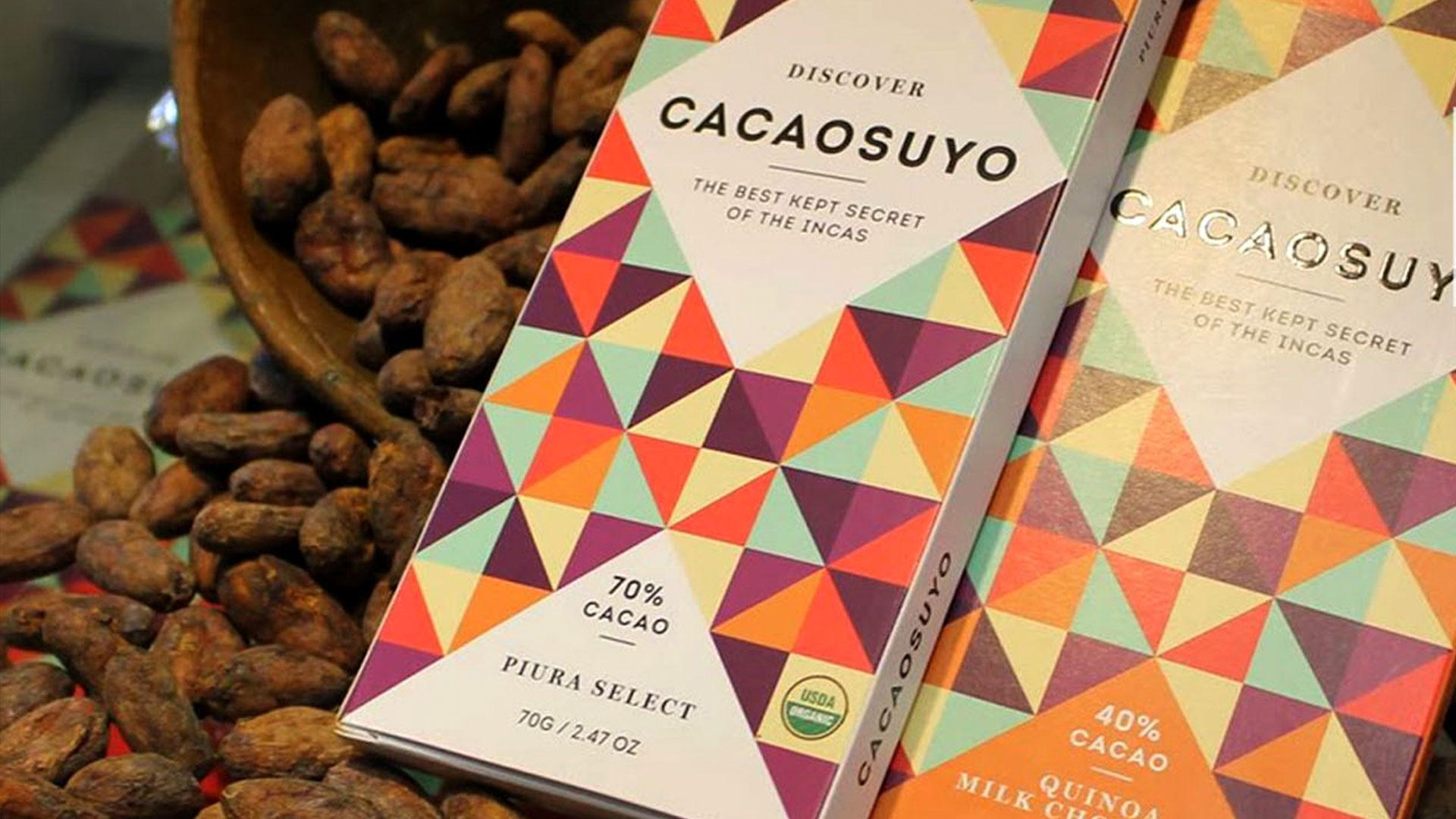 Cacao chocolate peruvian