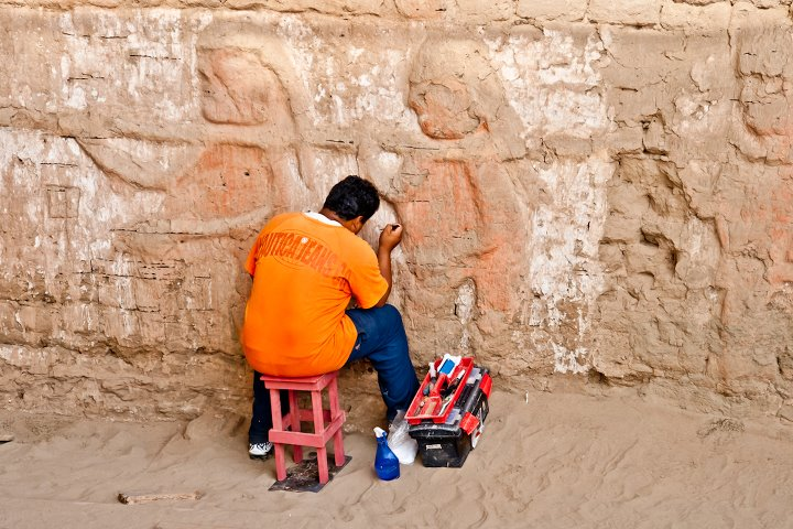 Moche Temple of the Moon, Peru