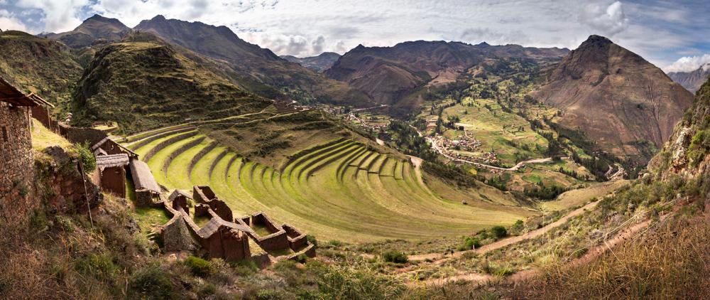 Pisaq, points of interest in Peru