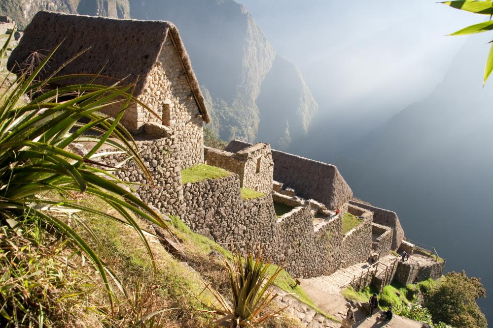 Machu Picchu. Points of interest Peru