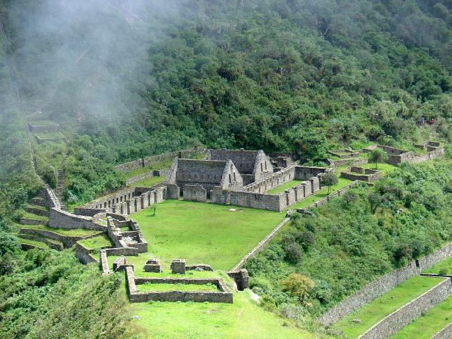 Trekking to Choquequirao, 5 days