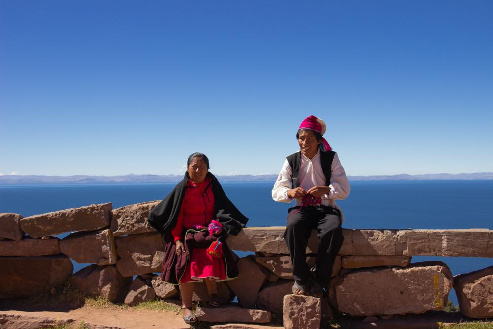 Titicaca tour: Uros islands, Taquile island