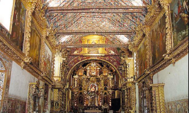 Церковь Сан-Педро де Андауайлильяс