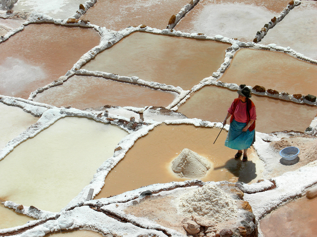 Соляные террасы Марас / Maras Peru