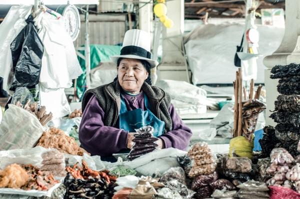 Рынок Сан-Педро в Куско