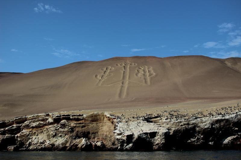 The Paracas Candelabra, the Candelabra of the Andes