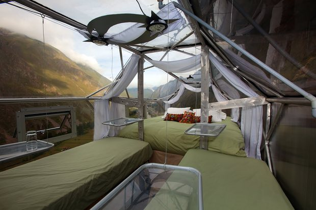 отель Skylodge Adventure suites, фото Скайлодж, ExploreByYourself.com