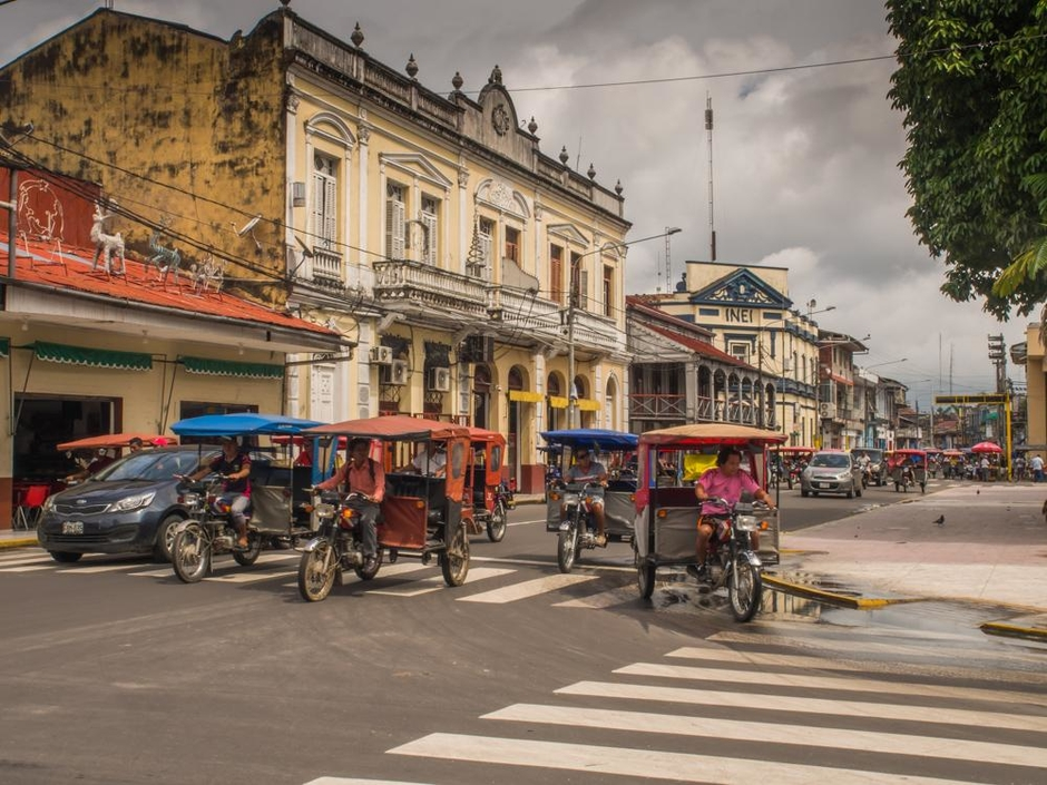 Iquitos – city in the Amazon rainforest